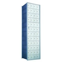 Custom 48 Door Horizontal Mailbox Unit - Front Loading - (47 Useable; 12 High) 1600124-SP