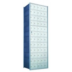 Custom 60 Door Horizontal Mailbox Unit - Front Loading - (59 Useable; 12 High) 1600125-SP