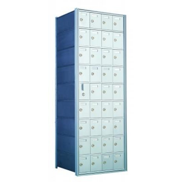 Custom 36 Door Horizontal Mailbox Unit - Front Loading - (35 Useable; 9 High) 160094-SP