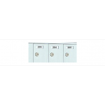 Custom 72 Door Horizontal Mailbox Unit - Front Loading - (71 Useable; 12 High) 1600126-SP