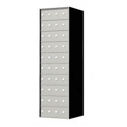 Custom 40 Door 10 High Horizontal Mailbox Unit - Rear Loading - 1700104SP