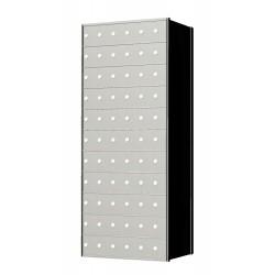 Custom 66 Door 11 High Horizontal Mailbox Unit - Rear Loading - 1700116SP