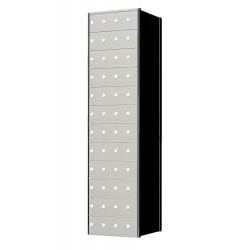 Custom 48 Door 12 High Horizontal Mailbox Unit - Rear Loading - 1700124SP