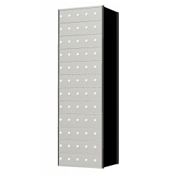 Custom 60 Door 12 High Horizontal Mailbox Unit - Rear Loading - 1700125SP