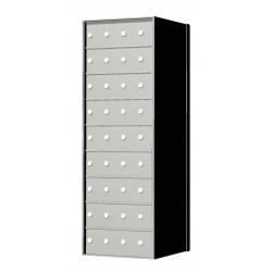 Custom 36 Door 9 High Horizontal Mailbox Unit - Rear Loading - 170094SP