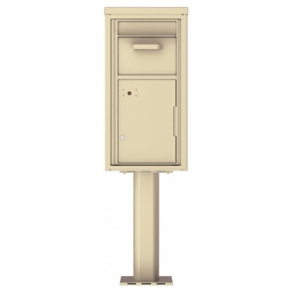 Collection/Drop Box Unit - 4C Pedestal Mount 9-High (Pedestal Included) - 4C09S-HOP-P