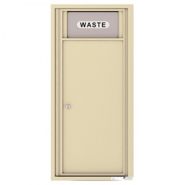 Trash/Recycling Bin - 4C Wall Mount 10-High - 4C10S-BIN