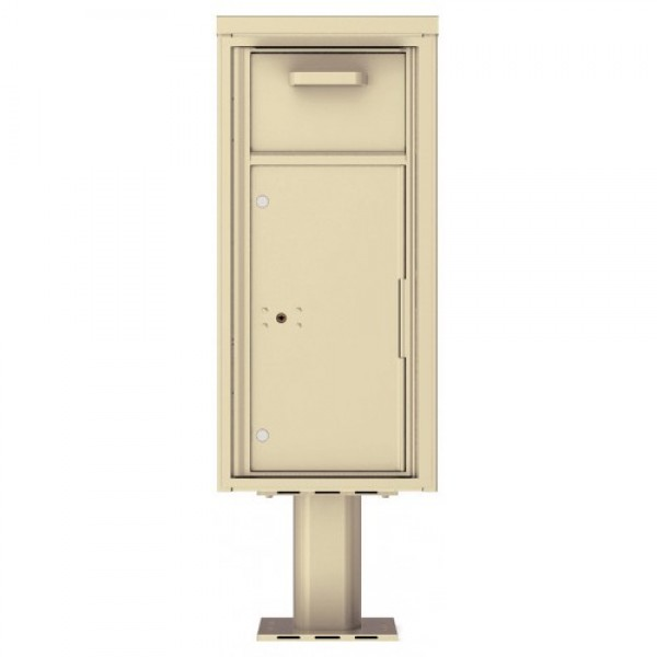 Collection/Drop Box Unit - 4C Pedestal Mount 10-High (Pedestal Included) - 4C10S-HOP-P