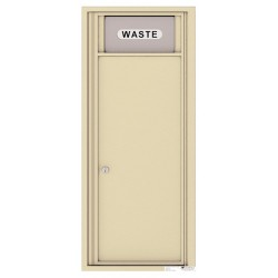 Trash/Recycling Bin - 4C Wall Mount 12-High - 4C12S-BIN