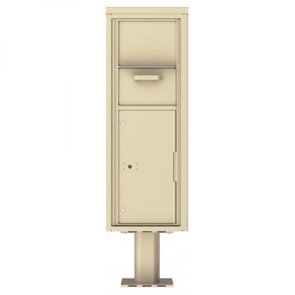 Collection/Drop Box Unit - 4C Pedestal Mount 13-High (Pedestal Included) - 4C13S-HOP-P