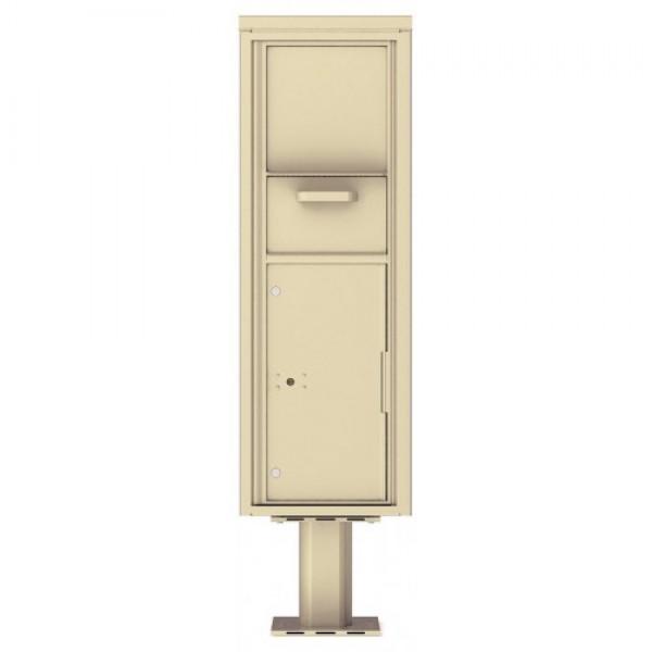 Collection/Drop Box Unit - 4C Pedestal Mount 14-High (Pedestal Included) - 4C14S-HOP-P