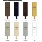 Collection/Drop Box Unit - 4C Pedestal Mount Max Height (Pedestal Included) - 4C16S-HOP-P
