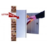 Collection Box and Letter Drop/Liner Combination - With Wall Liner - 120SMLDLA / 120SPSMLDL