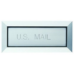 """Mail (Letter) Drop with 8"""" Angled Liner - LD12AL8B / LD12SPL8B"""